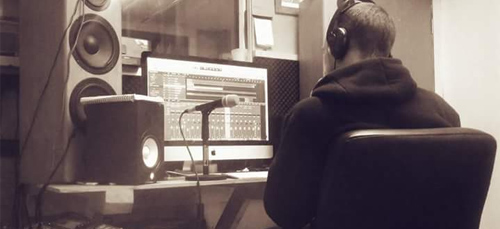 Recording our single